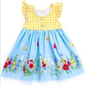 Eleanor Rose Butterfly Garden Kirby Dress